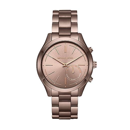 Michael Kors Reloj Analogico para Mujer de Cuarzo con Correa en Acero Inoxidable MKT4019: Amazon.es: Relojes