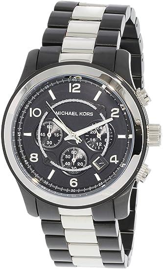 Reloj Michael Kors Jet Set Sport Mk8182 Hombre Negro: Michael Kors: Amazon.es: Relojes