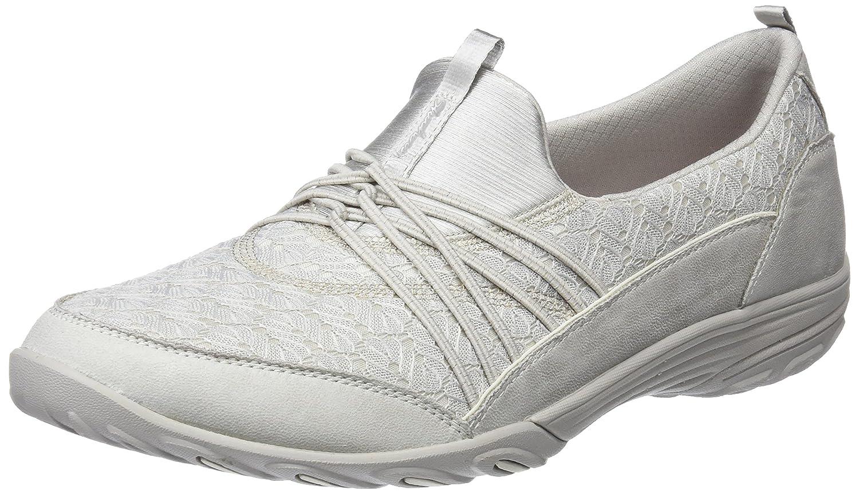 Skechers Empress-Wide-Awake, Zapatillas sin Cordones para Mujer 35.5 EU|Beige (Natural)