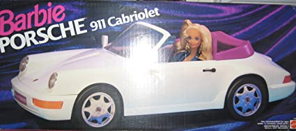 Amazon Com Barbie Porsche 911 Cabriolet Toys Games