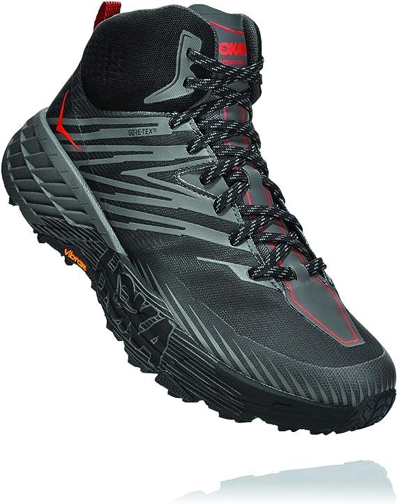 Hoka One One Speedgoat Mid 2 GTX - Zapatillas de trail running para hombre: Amazon.es: Zapatos y complementos