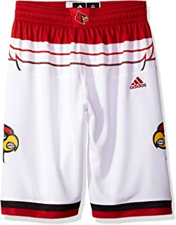 83c449dd2f22e Amazon.com : adidas Louisville Cardinals NCAA White Men's Premier ...