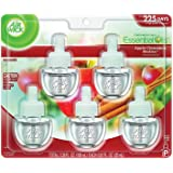 Air Wick Life Scented Oil Plug In Air Freshener Refills, Apple Cinnamon Medley Essential Oils