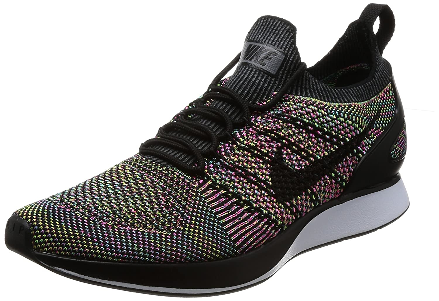 Nike Shoes Air Zoom Flyknit Racer 11.5 D(M) US|White/Black-volt-chlorine Blue