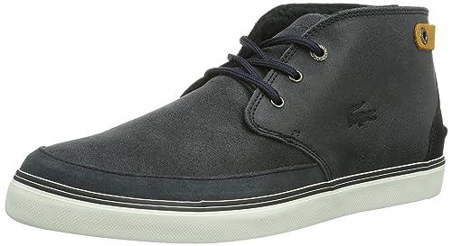 Lacoste Clavel 12 - Zapatillas de estar por casa Hombre, Braun(DK BRW 176), 45