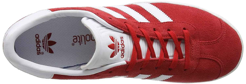 Originals adidas Boy's Gazelle J ScarleFtwwhtGoldmt K1JlcF