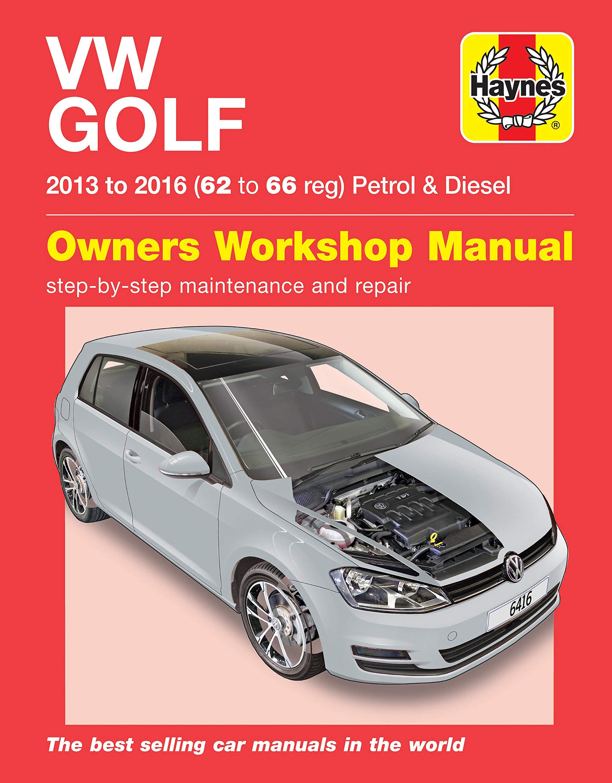 VW Golf petrol & diesel (13-16) 62 to 66: Amazon.es: Mark Storey: Libros en idiomas extranjeros