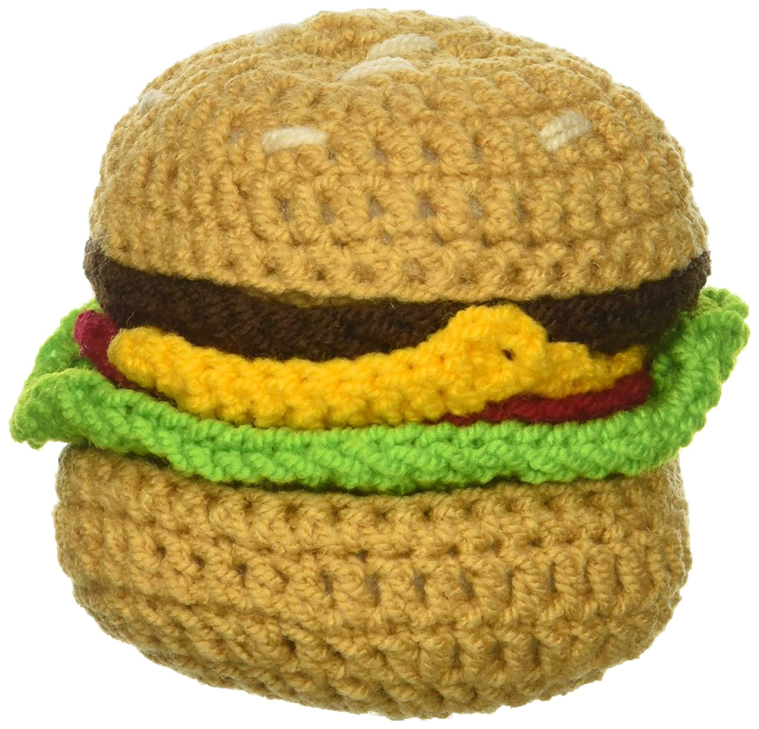Silk Road Bazaar Knit, Hamburger Rattle KP08