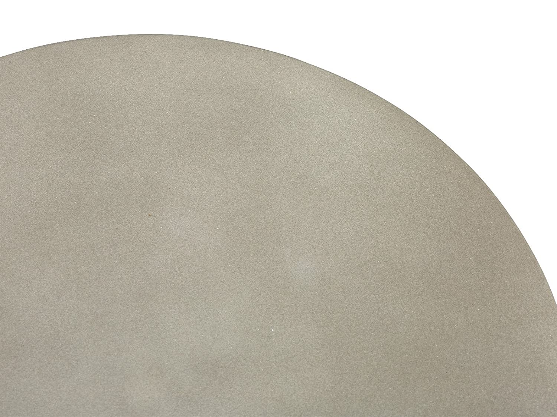 Massivum Gladstone Hocker BxHxT: 34x40x34 cm Grau Beton