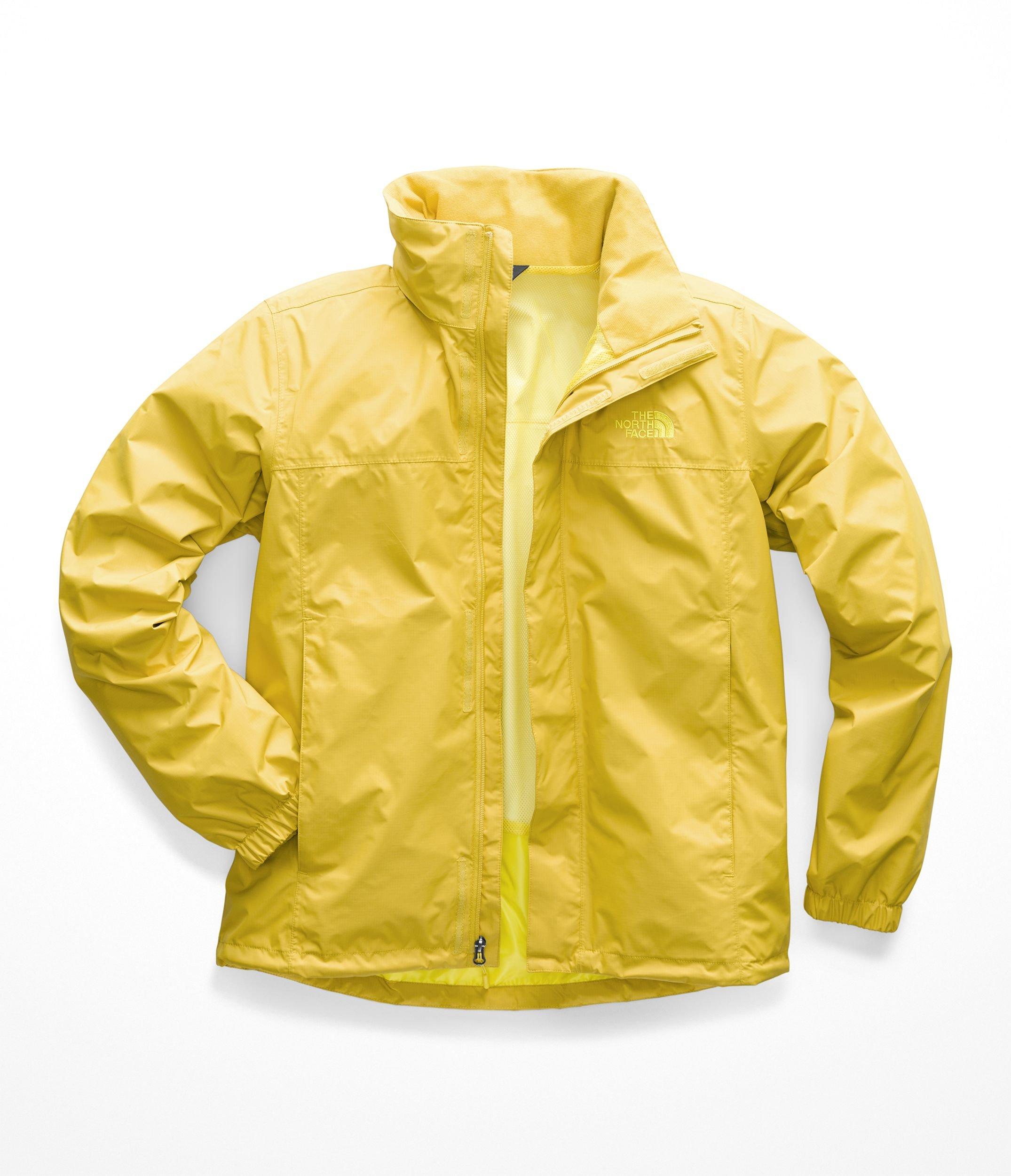 The North Face Men's Resolve 2 Jacket - Leopard Yellow & Acid Yellow - XXL