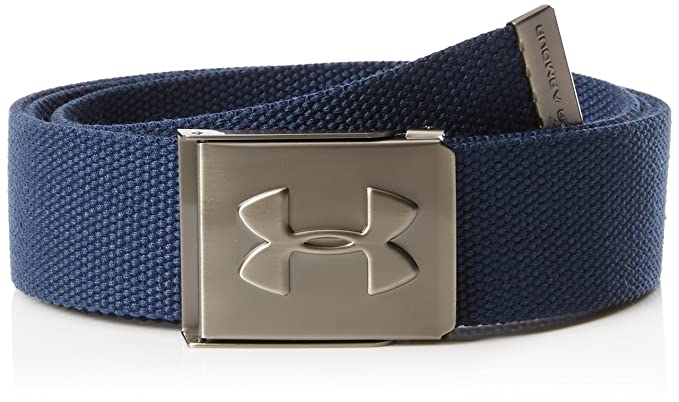 aa8f24cf2830 Amazon.com  Under Armour Men s Webbed Belt  Clothing