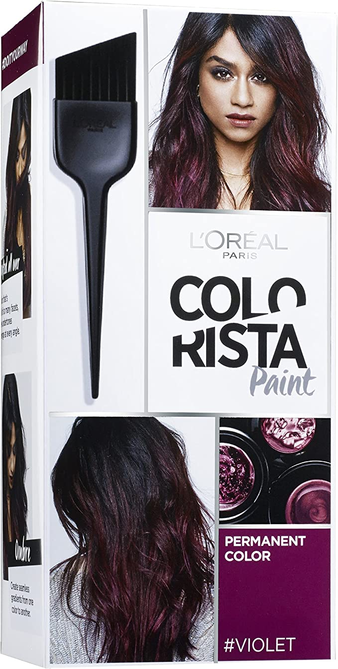 Color permanente para cabello de Colorista Paint, color morado