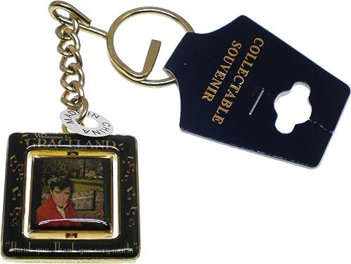 Amazon.com: Elvis Presley Bienvenido a Graceland Spinner ...