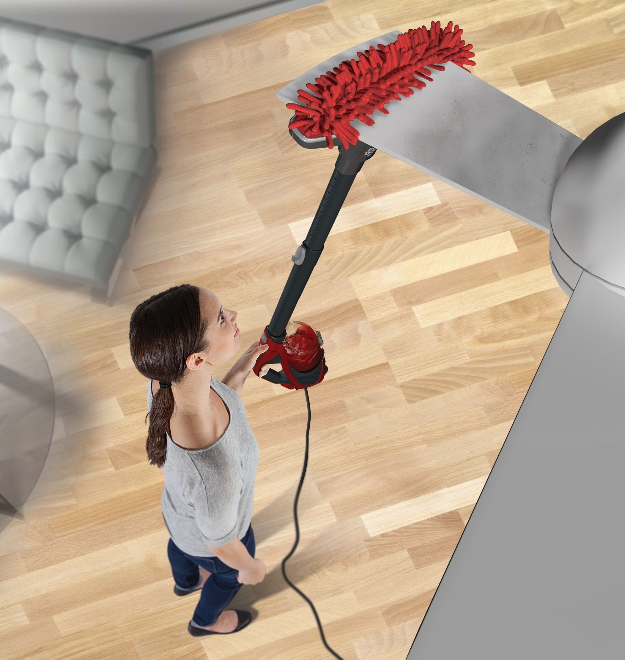 Dirt Devil Vacuum Cleaner 360 Reach Pro Corded Bagless Stick and Handheld Vacuum SD12515B by Dirt Devil (Image #9)