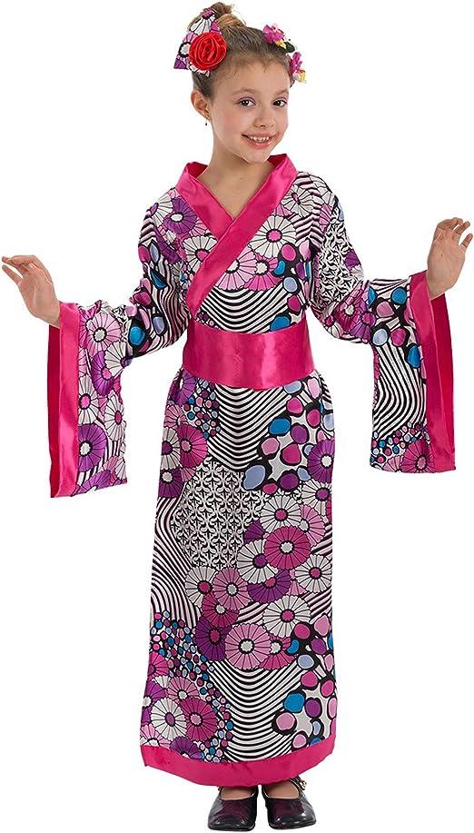 Carnival T. Disfraz Geisha Flor de Loto Baby: Carnival T.: Amazon ...