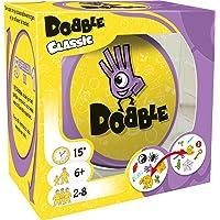 Dobble Classic NL - Kaartspel voor jong en oud - Test je snelheid, observatie en reflexen - Vijf spelvariaties mogelijk…