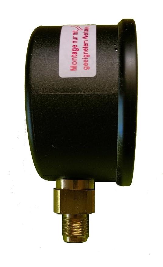 Manómetro glyzerin 1/8 50 mm 0 - 25 BAR: Amazon.es: Bricolaje y herramientas