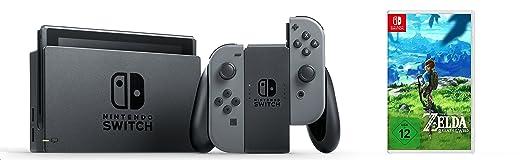 best loved 24399 ba2b1 Nintendo Switch Konsole Grau   The Legend of Zelda  Breath of the Wild   Nintendo