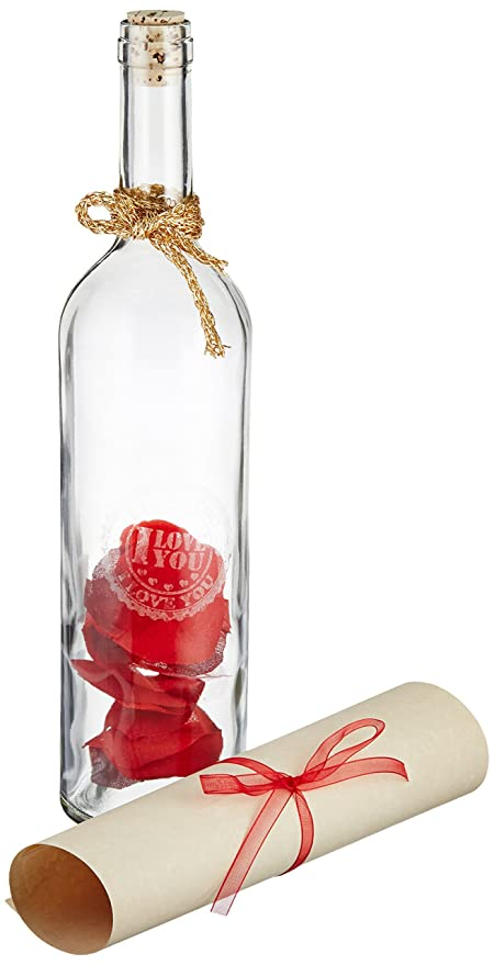 9e9990cd39cb Amazon.com  Message in a Bottle Gift - Seal the Romance!  Home   Kitchen
