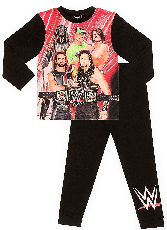Boys WWE World Wrestling Entertainment Champions Pyjamas 0714