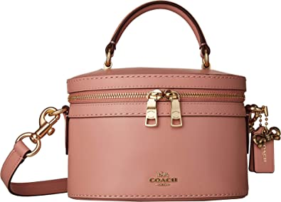 COACH Women s Refined Calf Leather Selena Trail Bag Gold Peony One Size b63a07f641006