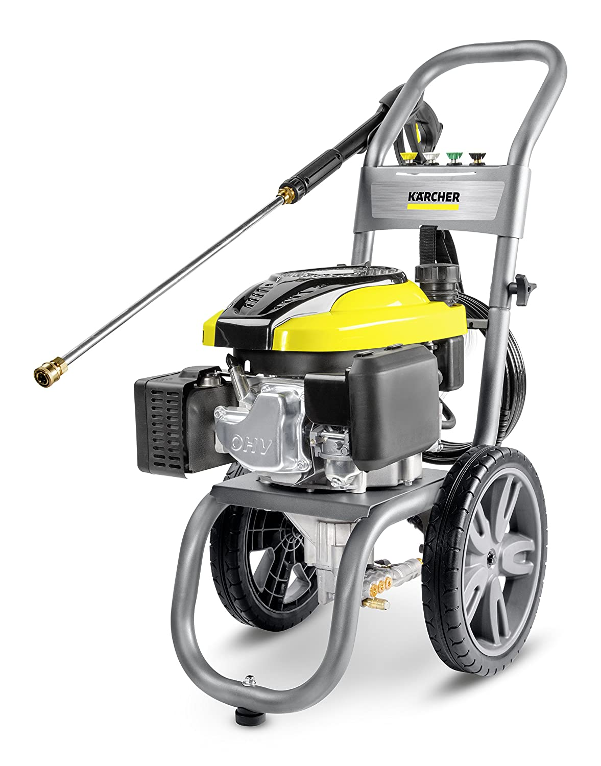 "Karcher 11073830 G2700R Gas Pressure Washer, 15"" x 28"" x 35"", Gray/Yellow"