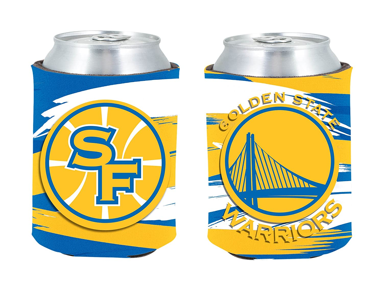NBA Golden State Warriors Paint Brush Pocket Coolie   B07BLS17RD