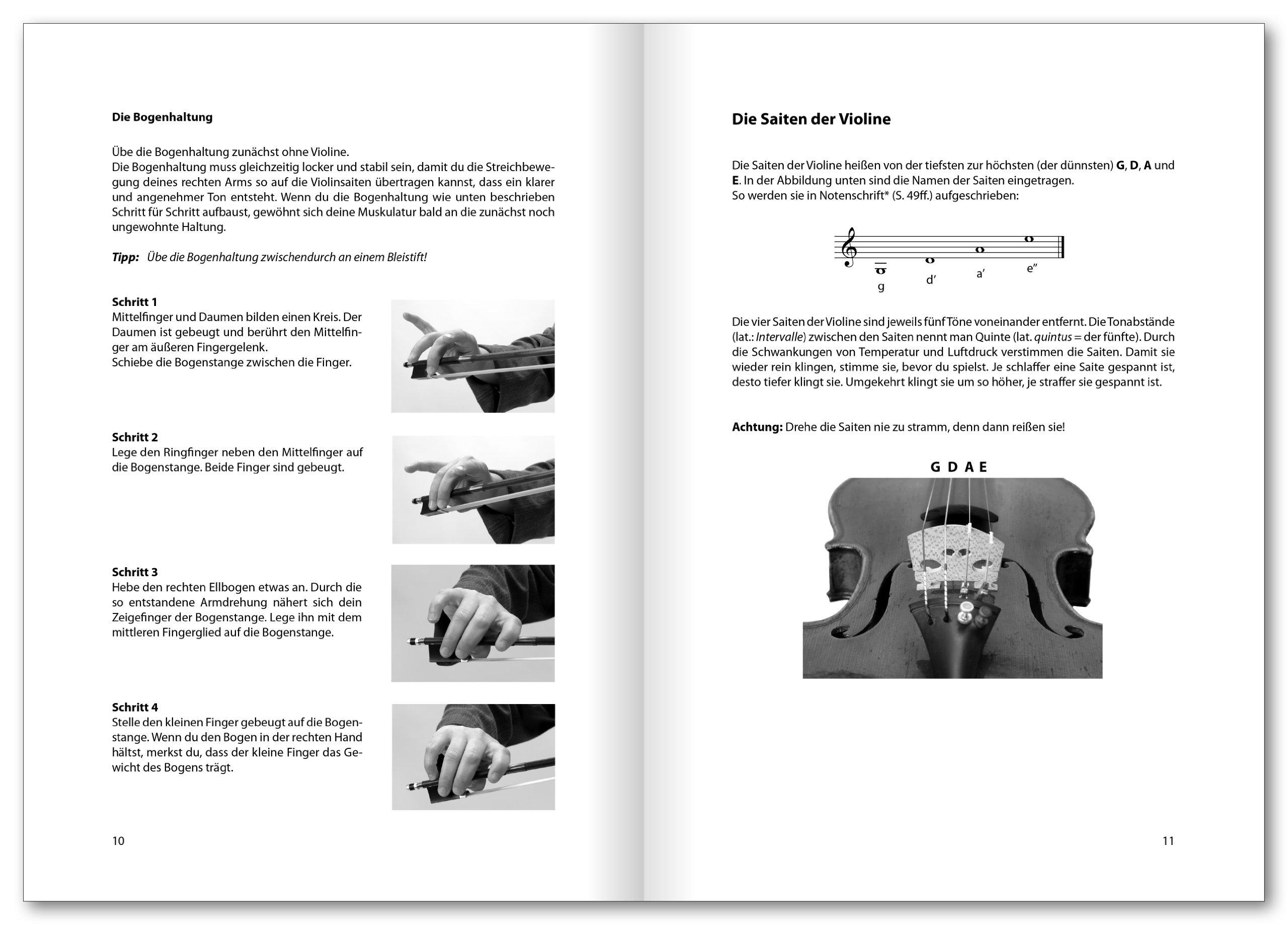 Violin Basics: Die Anfängerschule für Violine: Amazon.de: Christine ...