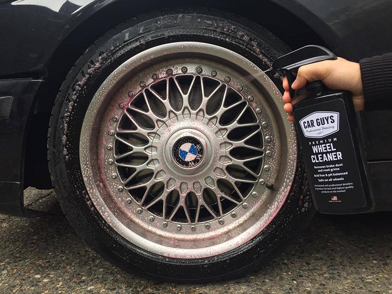 Wheel Cleaner 1 Gallon Bulk Refill - Safe for all Wheels