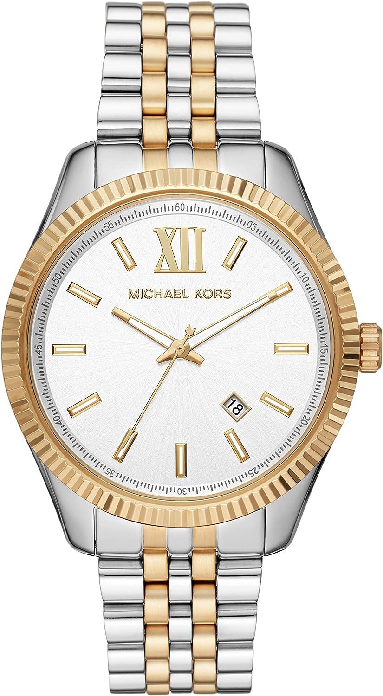 Reloj solo tiempo hombre Michael Kors Lexington casual cód. MK8752