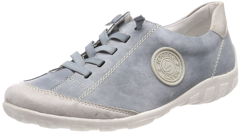 Remonte R3445, Zapatillas para Mujer 43 EU|Azul (Ice/Royal)