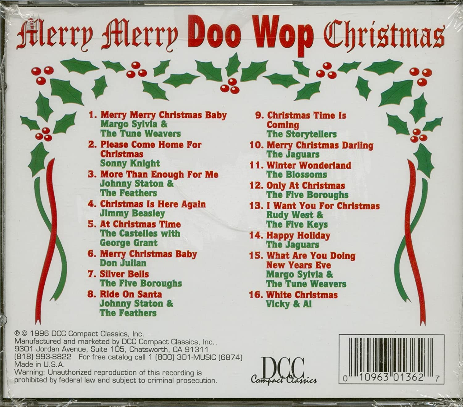 Various Artists - Merry Merry Doo Wop Christmas - Amazon.com Music