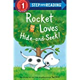 Rocket Loves Hide-and-Seek! (Step into Reading)
