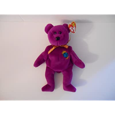 Beanie Baby Ty 2000 Millenium Bear: Toys & Games