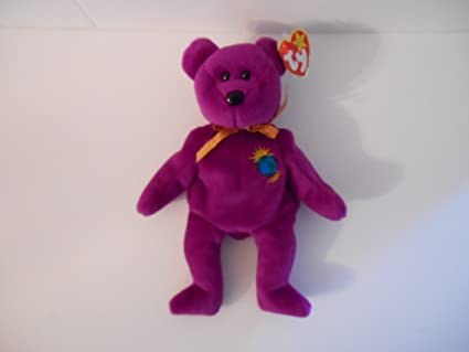 151fe3cefb8 Image Unavailable. Image not available for. Color  Ty Beanie Baby 2000  Millenium Bear