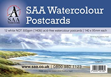 SAA Watercolour Practice Paper