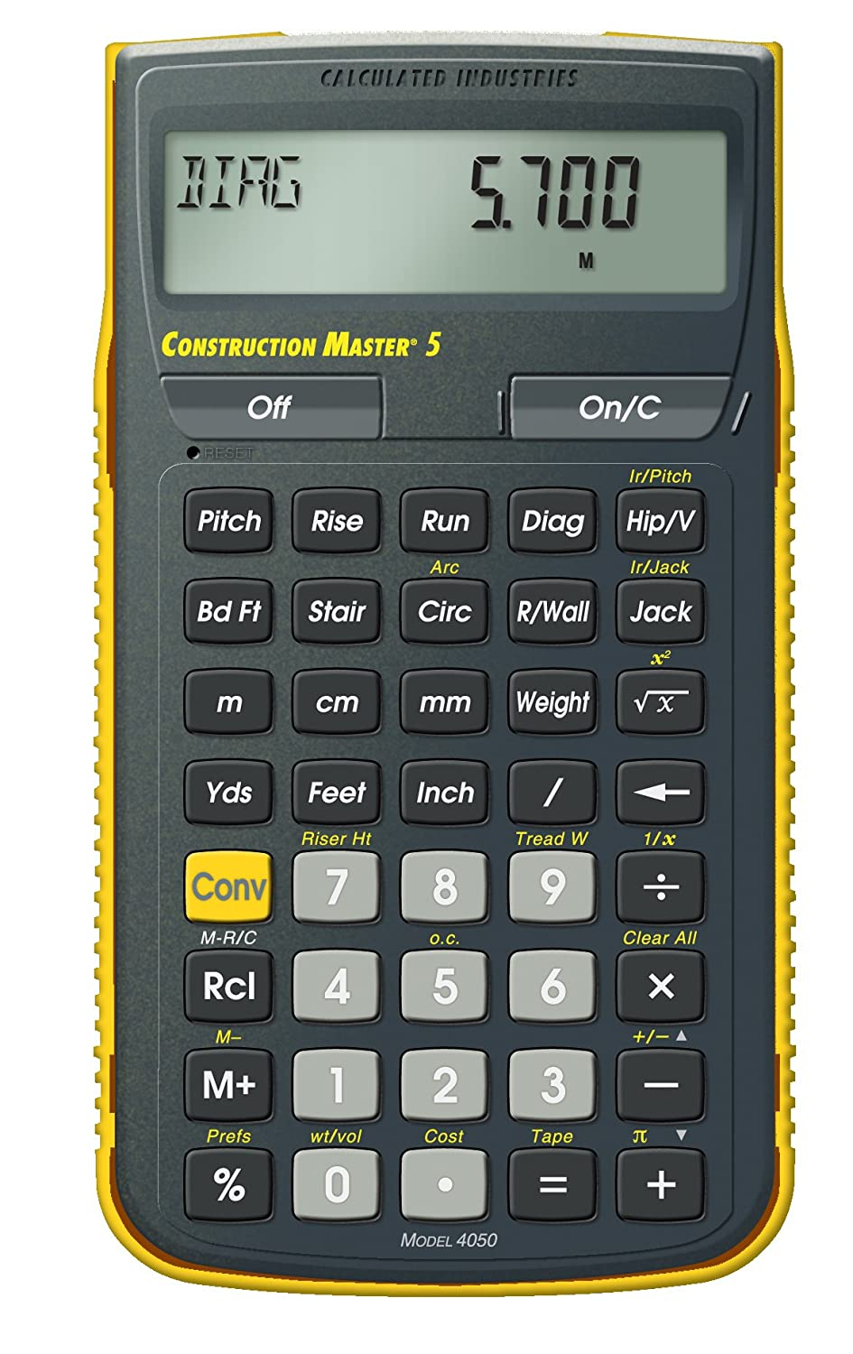 Amazon calculated industries 4050 construction master 5 amazon calculated industries 4050 construction master 5 construction calculator home improvement falaconquin