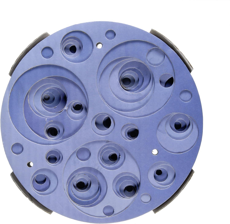 Blue Swirl Catit Design Senses Corrugated Scratcher