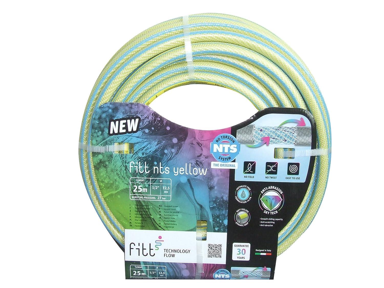 Fitt Yellow Tube NTS New, Yellow, mm 12.5 x 25 mt mm 12.5x 25mt