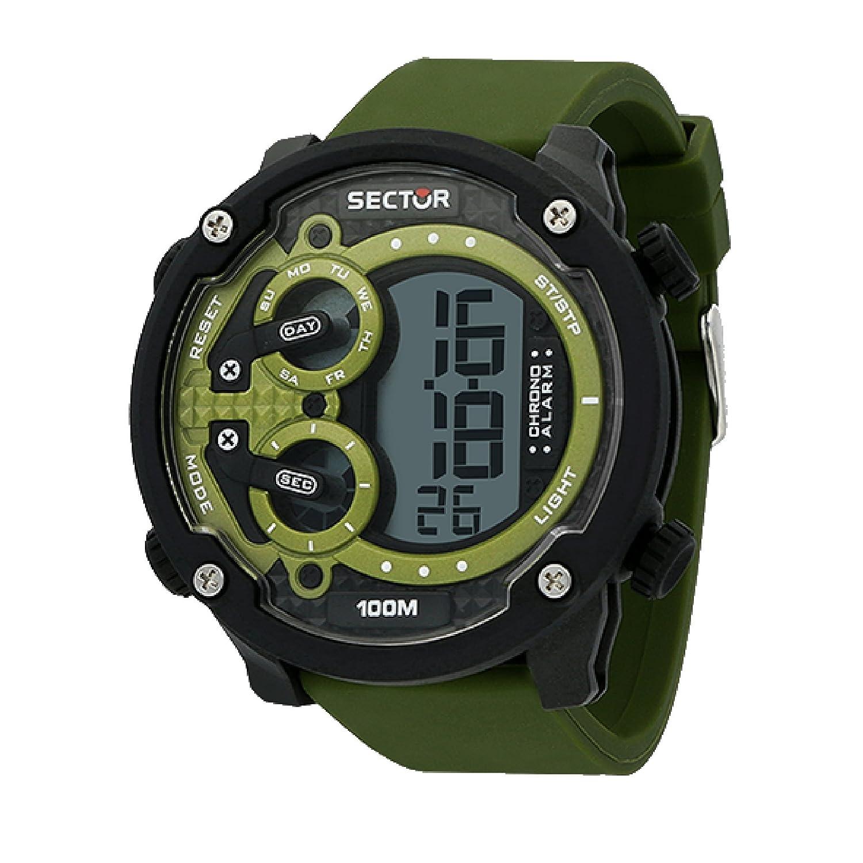 SECTOR Reloj Hombre de Digital con Correa en Silicona R3251571003