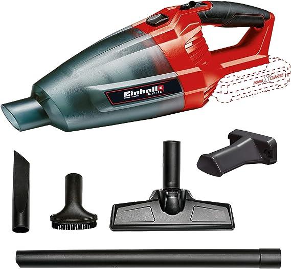 Einhell 2347120 Aspiradora de mano, Negro, Rojo, Sin Batería: Amazon.es: Bricolaje y herramientas