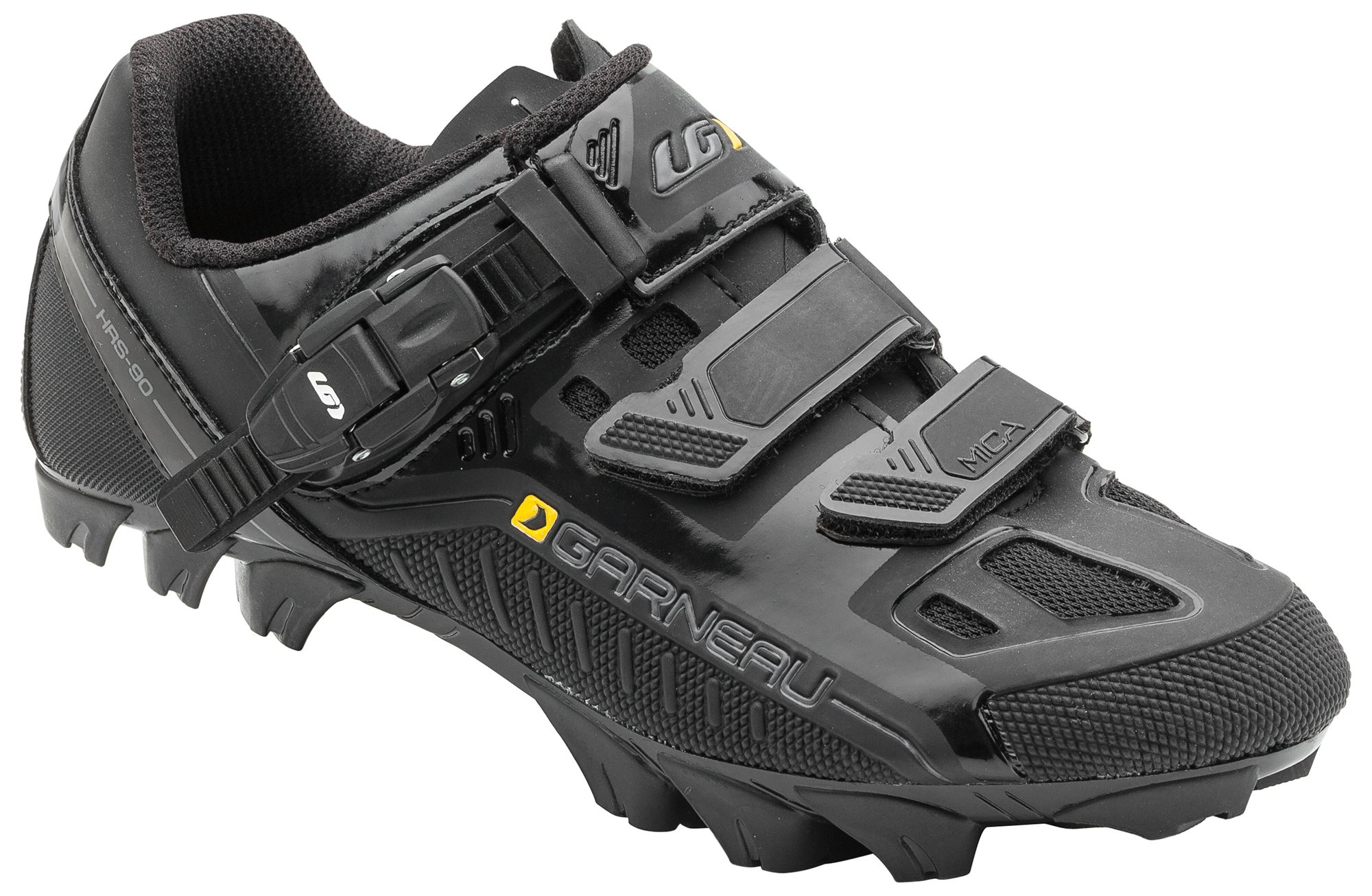 Louis Garneau - Women's Mica MTB Bike Shoes, Black, US (8), EU (39)