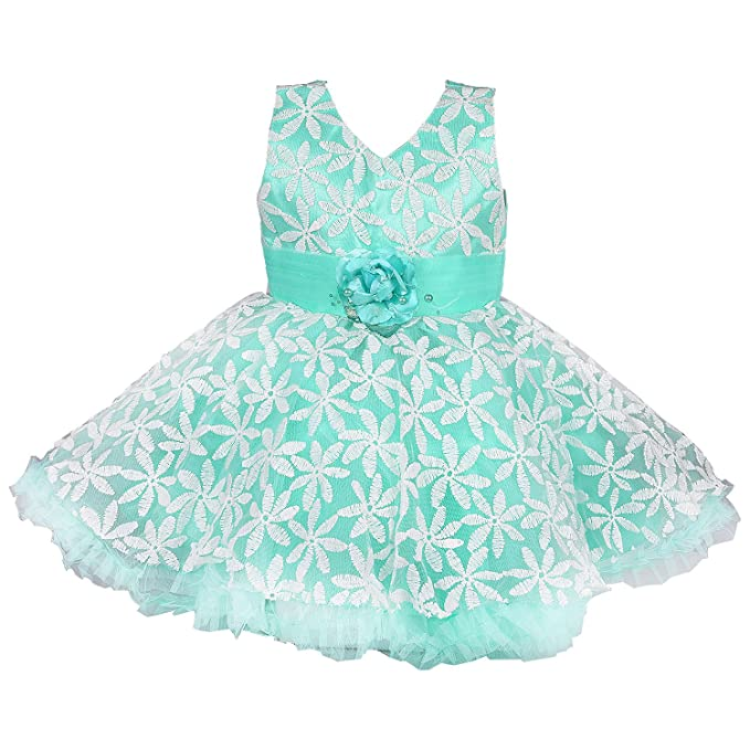 951c49777870 Wish Karo Baby Girls Party wear Frock Dress DN (fe2433sg 6-12 Months ...