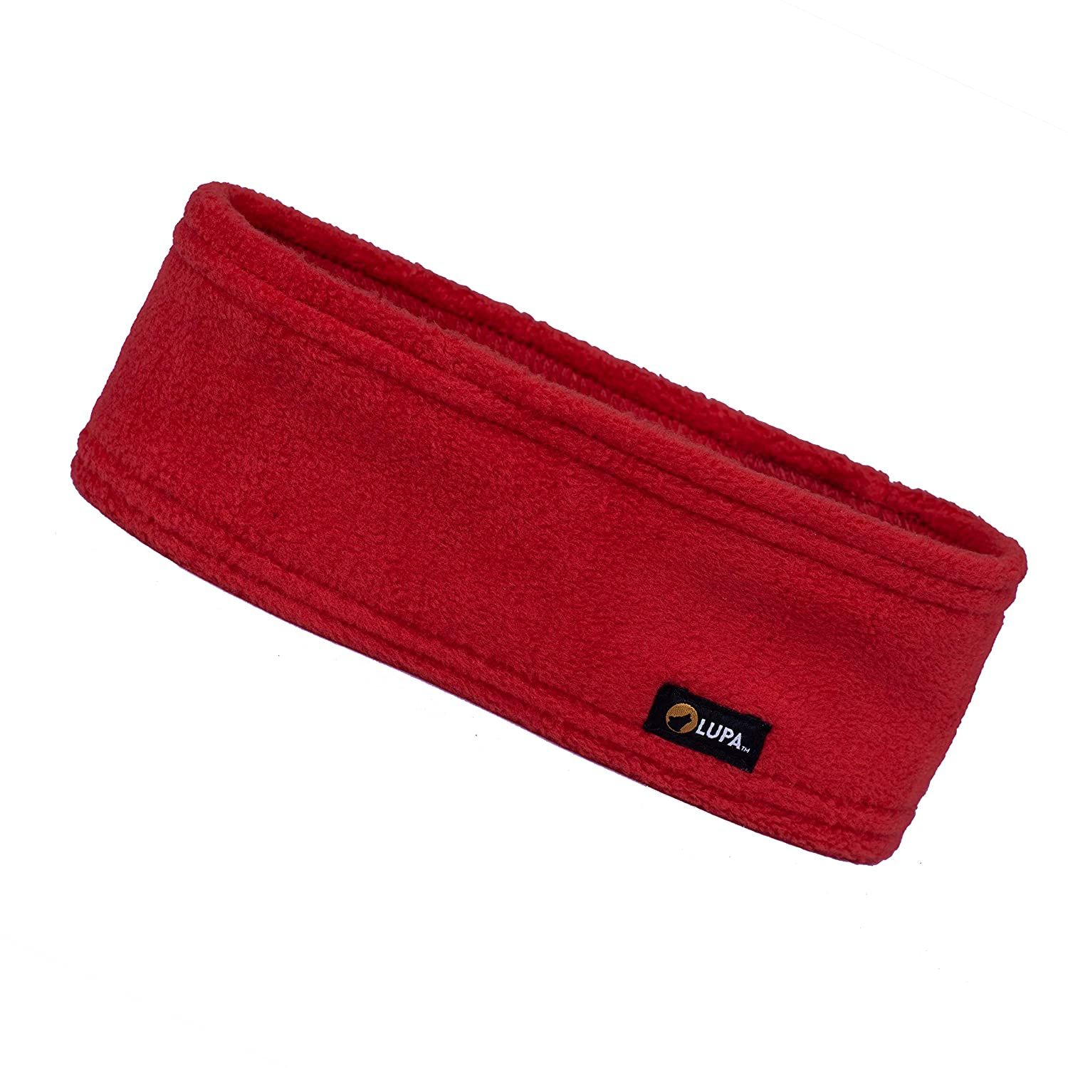 Lupa Kids Canadian-Made 3-Ply Micro Fleece Headband (Black)