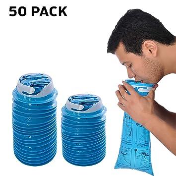 Amazon.com: Pack de 30 bolsas de emesis con pulsera ...