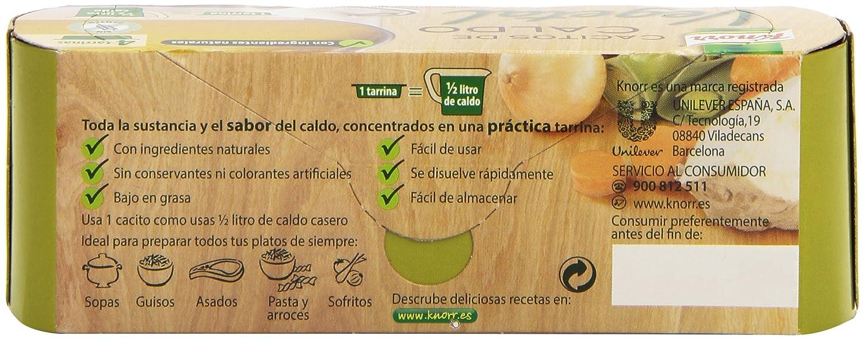 Knorr - Cacito De Caldo Vegetal (paquete de 4 cacitos de 28 gr): Amazon.es: Alimentación y bebidas