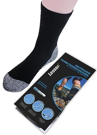 Coolmax® Sportsocken, Socken zum Trekking, Wandern, Laufen, Nordic Walking, Funktionssocken für Damen und Herren