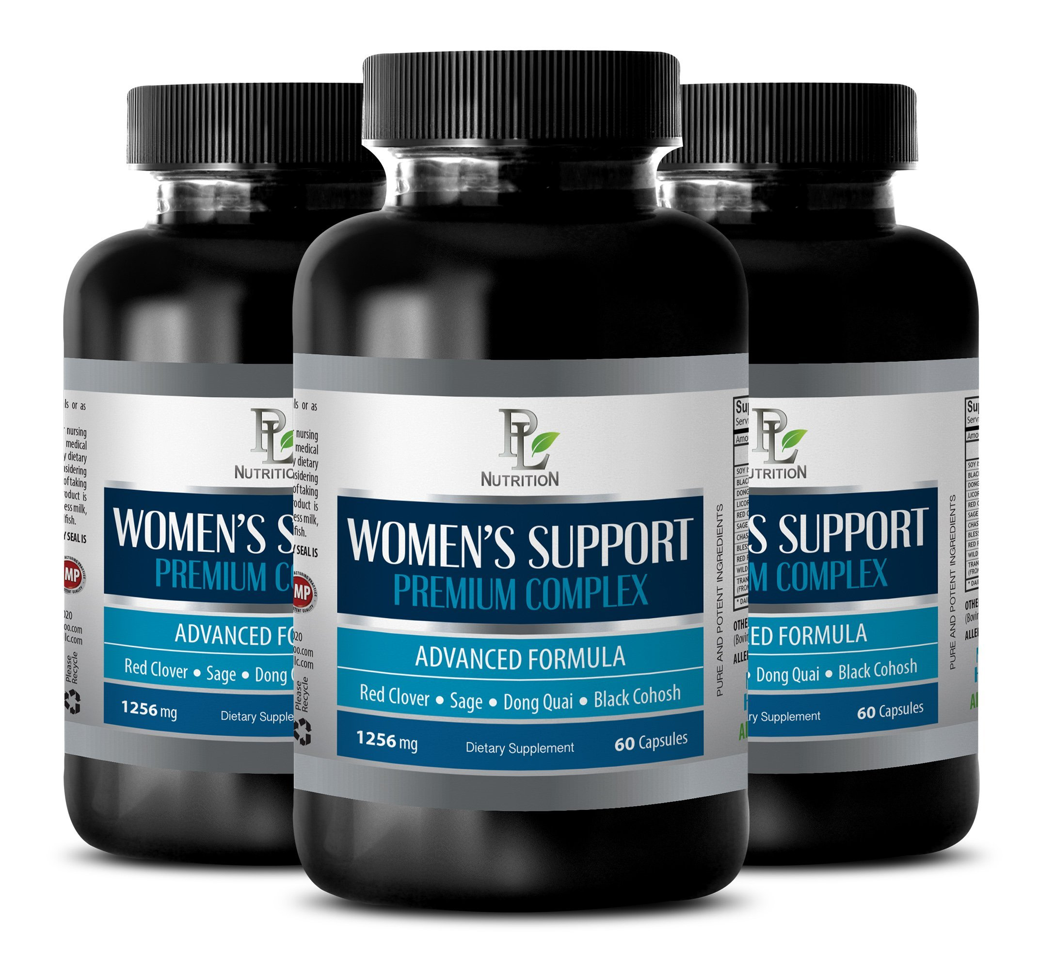 Sleeping aid - Women's Support Premium Complex - Advanced Formula - Female Sexuality - 3 Bottles (180 Capsules)