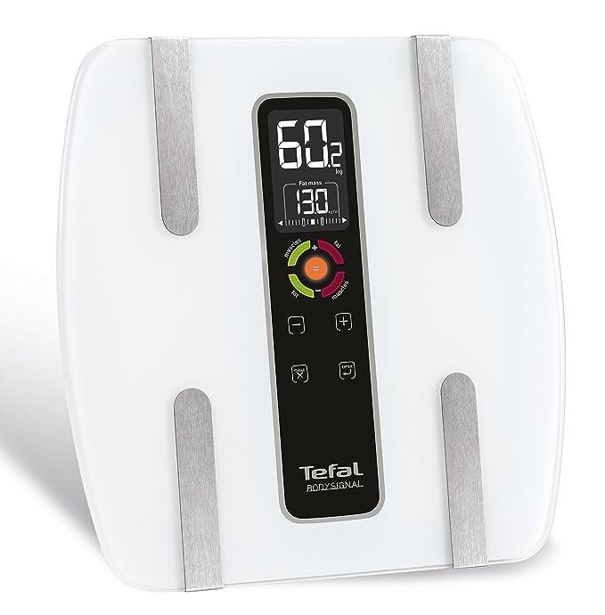 Tefal Bodysignal 3 BM7100S6 - Báscula de baño (LCD, transparente, LR03, vidrio): Amazon.es: Salud y cuidado personal