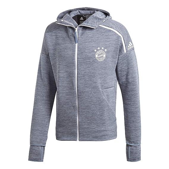 40eb7a4f692d3 adidas Herren FCB Z.n.e. Hoodie Feat. Fast Release Zipper Jacke: Amazon.de:  Bekleidung